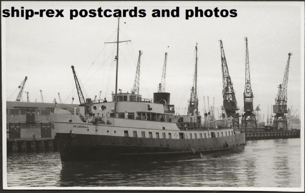 BALMORAL (1949a, Red Funnel) photo (b)